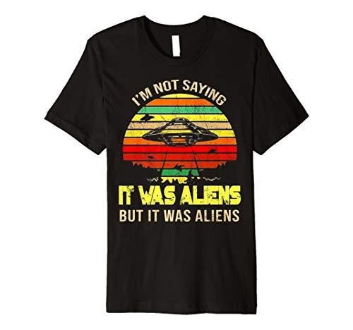 e Ancient Aliens Astronaut Costume shirt ()