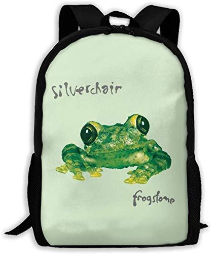 TTmom Schulrucksack,Schüler Bag,Rucksack Damen Herren Silverchair Frogstomp Unisex Backpack Shoulder Bag School Backpack Travel Bags Laptop Backpack