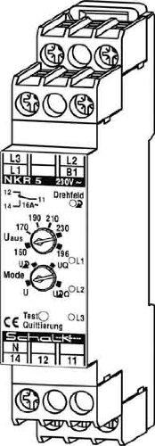 Schalk Netz-Überwachungs-Relais NKR 5 Spannungsüberwachungsgerät 4046929301046