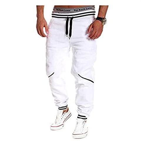 Eleery Outdoor Homme Jogging Garcon Basket-ball Pantalon Sport Casual Eté Loose