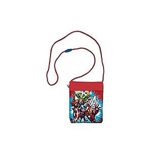 Avengers 2018 Bolsa de Cuerdas para El Gimnasio, 16 cm, Multicolor