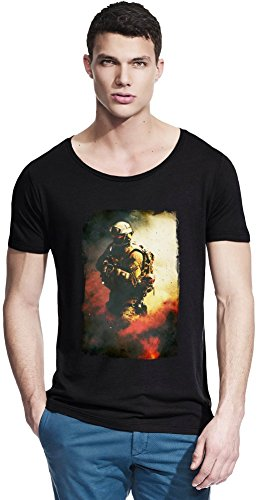 Wide Neck Tee (Medal Of Honor Assassin Bambus Wide Neck T-Shirt Small)
