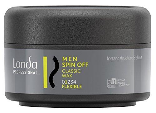 Londa Men Spin Off Classic Wax flexible, 1er Pack (1 x 75 ml)