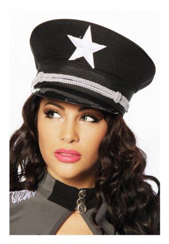 Offiziers-Mütze One Size (Einheitsgröße)