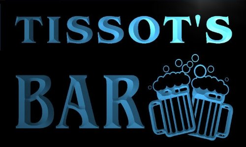 w062029-b-tissot-name-home-bar-pub-beer-mugs-cheers-neon-light-sign