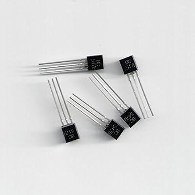 COMPONENT7-BC 547 NPN Amplifier Transistors-5 Pc