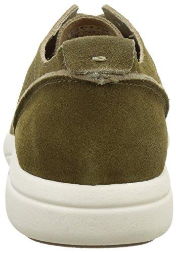 Geox Herren U Brattley A Sneakers Khaki  (Muskc3704)