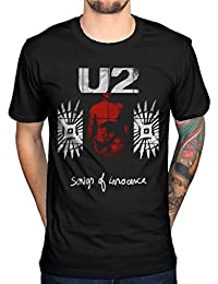 AWDIP Official U2 Songs Of Innocence Red Shade T-Shirt