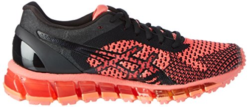 Asics Gel-Quantum 360 Knit, Scarpe Running Donna Blu (Peach/black/onyx)
