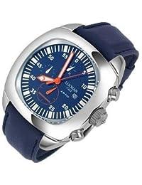 Locman 1970 - Reloj cronógrafo (Acero Inoxidable), Color Azul