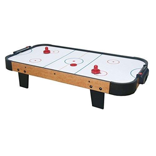 Deanyi Mini Air Hockey 60/76 / 96 mm, 2 Schieber, 4 Pucks Filz-Set für Spieltische und Babyspiele, Sport-Spielzeug