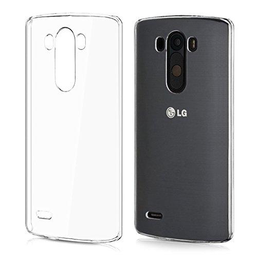 Funda Carcasa Gel Transparente para LG G3 Ultra Fina 0,33mm, Silicona TPU de Alta Resistencia y...