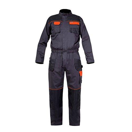 LAHTI PRO Herren Arbeitsoverall Overall Arbeitskleidung Graphit CE/EN ISO 13688 (2L)