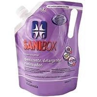 Sanibox Detergente Concentrato Elimina Odori Profumato Lavanda 1 Litro