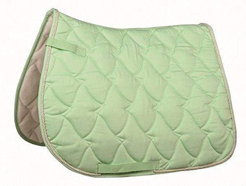 Hkm Hkm 4000315610969 Schabracke -Cassandra Softice-5805 Milky Green/Silberpony Dressur