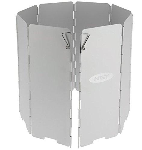 Windschutz Windschild aus Aluminium zusammenfaltbar inkl. Tasche für Gaskocher