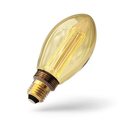 Sylvania LED Lampe Mirage - Retro Glühbirne im Edison-Stil (2,5 Watt, 105 lm, E27) (Glühbirne Sylvania)