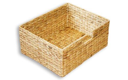 """KMH®, Große Korb-Box """"Hidalgo"""" aus geflochtener Wasserhyazinthe (#204036) Test"""