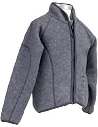 Mikk-Line Boy's Fleecejacke Junior Wool Jacket