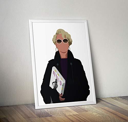 The Devil Wears Prada inspirierte Poster - Zitat - Alternative Movie/Film Prints in verschiedenen Größen (Rahmen nicht im Lieferumfang enthalten)