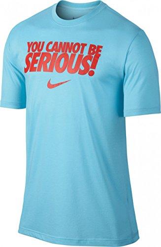 Nike You Cannot Be Serious T-Shirt Blu