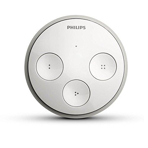 Preisvergleich Produktbild Philips Hue Tap kabelloser, intelligenter Schalter zur Steuerung der Hue-Produkte 8718696498026, funktioniert mit Amazon Alexa (Zertifiziert und Generalüberholt)