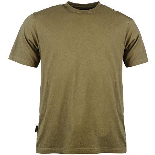 Diem Kleines Logo Herren Kurzarm T Shirt Angeln Fischen Tee Top Fischer Angler L (Tank Top Baseball-ribbed)