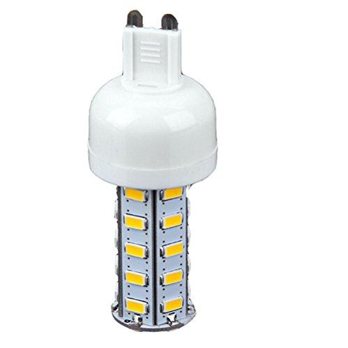 7W SMD-5730 36 LEDs G9 1600Lm warme weiße dimmbare Glühbirne