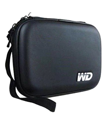 FrndzMart WD 2.5 inch Hard Disk case for All Brand External Hard Drive (Waterproof and Shock Proof) (Black)