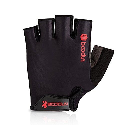 YYYY Fahrradhandschuhe Halbfinger Herren Damen Fitness Handschuhe Atmungsaktiv Rutschfestes Gepolstert Sommer Handschuhe