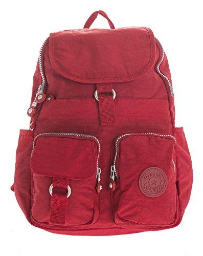 Imagen de big handbag shop  bolso  de tela para mujer rojo backpack style 3  red