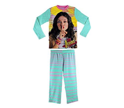 Media wave store 826329 pigiama da bambina con grafica soy luna in caldo cotone da 6 a 12 anni (6 anni)