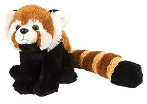 Wild Republic-10945 Peluche Panda Cuddlekins, Color marrón (10945