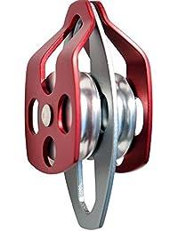 Pinkfishs Al Aire Libre Escalada Aluminio magnesio aleacion Doble polea Downhill equipmet -