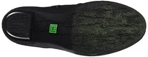 El Naturalista Damen Nf71 Pleasant Lichen Kurzschaft Stiefel Schwarz (Black / Black)