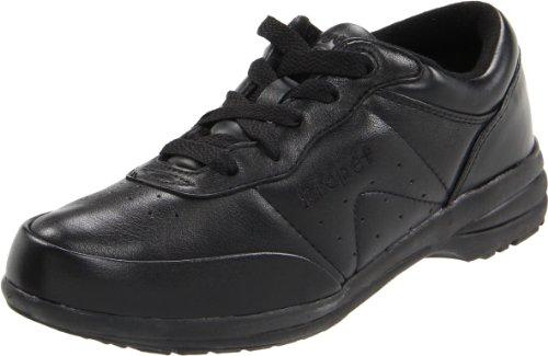 Propet Washable Walker Cuir Baskets Black