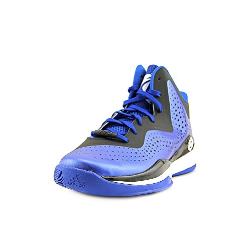 Adidas D Rose 773 III Men's Basketball Shoe 10 Aluminum-Nero-bianco Royal-Black-White