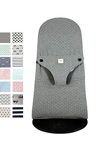 Fundas BCN ® - F185/9402D - Housse pour Transat Babybjörn ® Balance ® Soft ® et Bliss ® - Convient à tous les modèles - Imprimé Vintage Dot