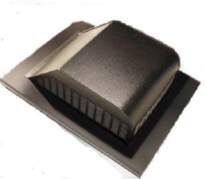 Air Vent #85285 White Aluminum Slant Roof Vent by Air Vent -
