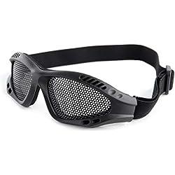 lunettes grillage noire