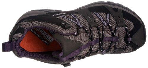 Merrell Siren Sport Gore-Tex, Scarpe da Arrampicata Donna Multicolore (Black/Perfect Plum)