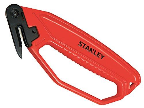 Stanley 0- 10- 244 Cuchillo de Seguridad para Abrir embalajes,  180 mm