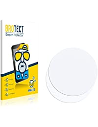BROTECT Protector Pantalla Anti-Reflejos Compatible con Relojes (Circular, Diámetro: 48 mm) (2 Unidades) Pelicula Mate Anti-Huellas