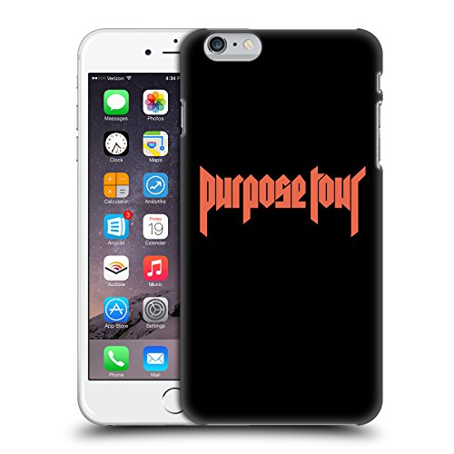 Head Case Designs Offizielle Justin Bieber Logo Tour Merchandise Ruckseite Hülle für iPhone 6 Plus/iPhone 6s Plus
