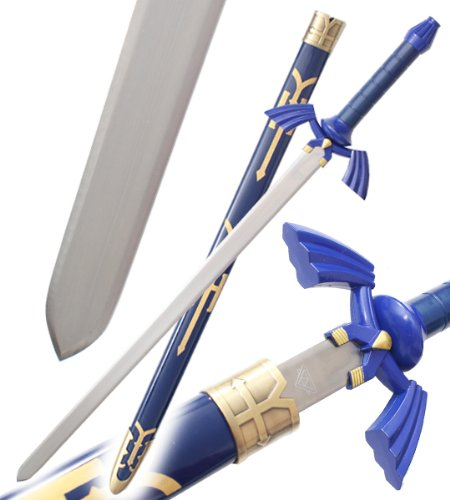 Zelda-Epee-de-Link-avec-Fourreau-99cm-Replique-Decoration