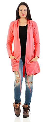 Mr. Shine® �?Damen Fashion Cardigan Lose Oberteil Mantel Pullover mit Druck S-XXXL Übergrößen Corral