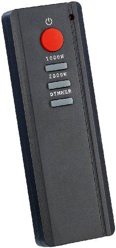 Carlo Milano Design Elektrokamin für Wandmontage / 2000 Watt - 2