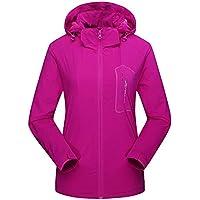 Hanomes Damen pullover, Frauen Herbst Winter Softshell Cashmere Wasserdicht Sport Outdoor Assault Coat preisvergleich bei billige-tabletten.eu