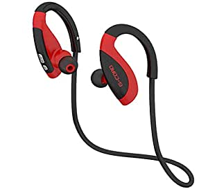 Fleeken G-Cord Noise Cancelling Bluetooth Wireless Earphones Stereo Headset with Mic