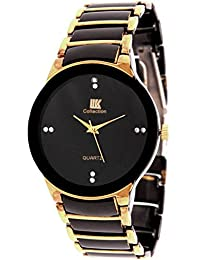 PETER INDIA,,IIK Collection Black Gold Luxury Analog Watch - For Men